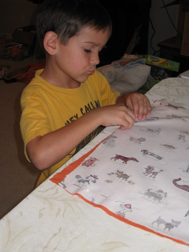 andrew sewing