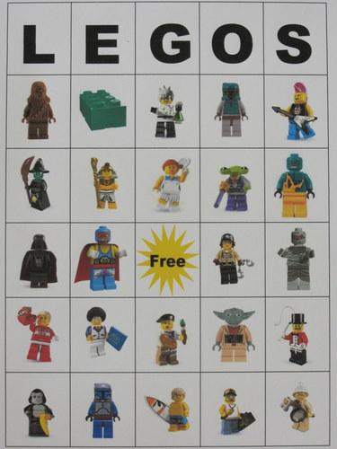 Lego Bingo | Big D and Me