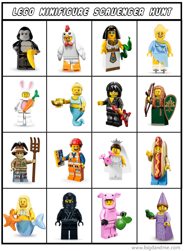 Massif image in lego minifigure printable